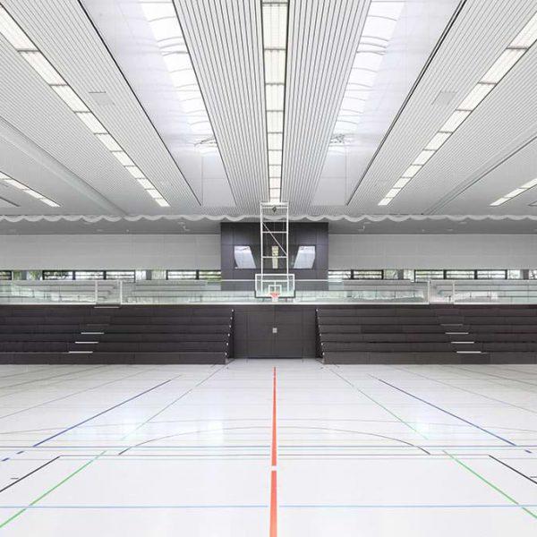 Alfred Kärcher Sporthalle Winnenden, Technische Gebäude Ausstattung